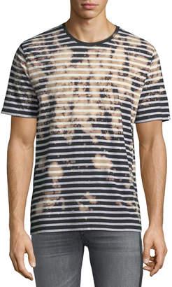 PRPS Bleached Striped Short-Sleeve T-Shirt