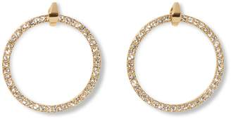 Vince Camuto Pave Door Knocker Earrings