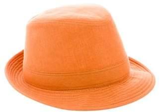Hermes Linen Funky Hat