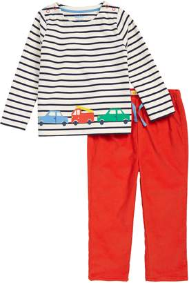 Boden Mini Transport Applique Shirt & Pants Set