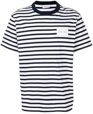 Calvin Klein relaxed stripe T-shirt