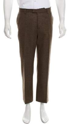 Etro Flat Front Wool Pants