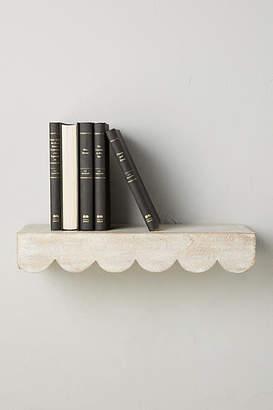 Anthropologie Scalloped Shelf