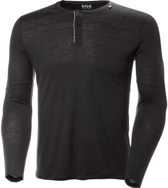 Helly Hansen Merino Light Button Long-Sleeve Top - Men's