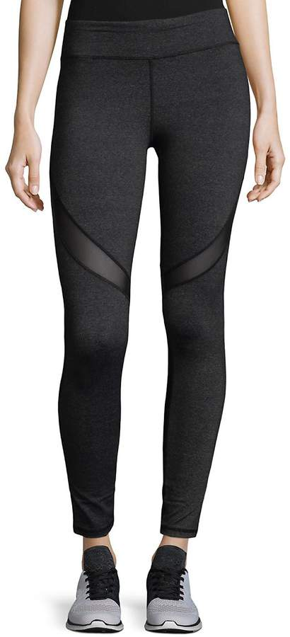 Marc New York Performance Women's Mesh Performance Leggings - Grey, Size xl [x-large]
