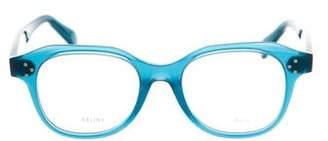 Celine Round Acetate Eyeglasses w/ Tags
