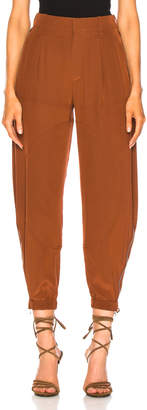 Chloé Tapered Pants in Wildwood Brown | FWRD