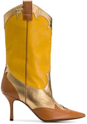 Marc Ellis colour-block pointed boots