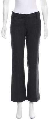 Prada Low-Rise Wool Pants