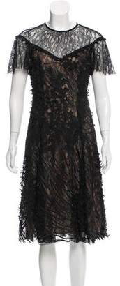 Prabal Gurung Lace Midi Dress w/ Tags