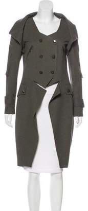 Robert Rodriguez High-Low Knee-Length Coat