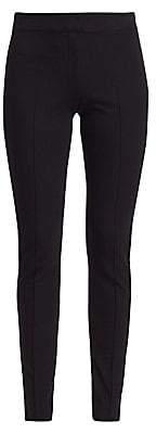 Akris Punto Women's Mara Velvet Tuxedo-Stripe Pants