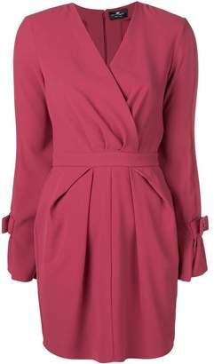 Elisabetta Franchi short V-neck dress