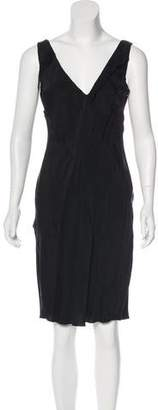 Nina Ricci Silk Knee-Length Dress w/ Tags