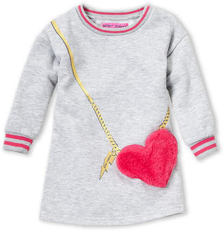 Betsey Johnson Toddler Girls) Heart Crossbody Dress