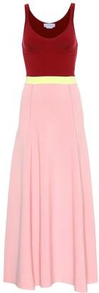 Gabriela Hearst Flaminius wool-blend dress
