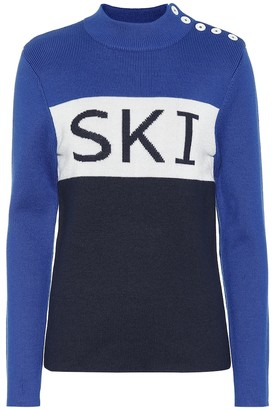 Tory Sport Wool-blend sweater