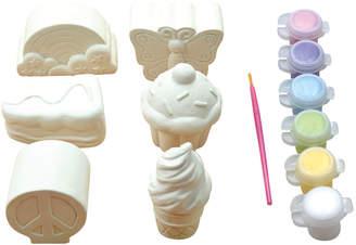 Lollipop Toys 6-Piece Paint Plaster Figure Kit