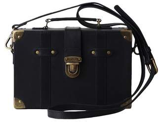 Most Wanted USA Lily's Trunk Box Leather Crossbody Bag