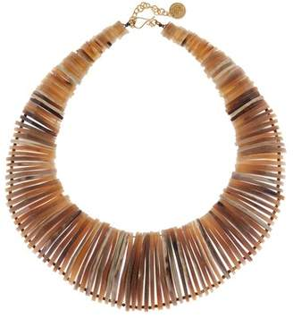 Soko Stacked Horn Collar Necklace