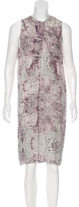 Wayne Silk Printed Dress