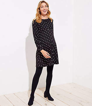LOFT Maternity Fleece Lined Tights