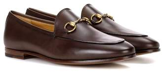 e648691ef57 Gucci Jordaan Leather Loafer - ShopStyle