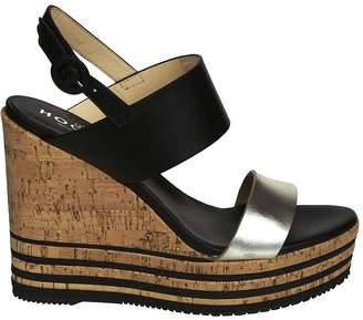 Hogan H361 Wedged Sandals