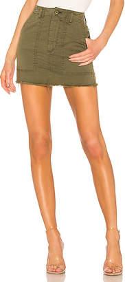 McGuire Denim Star Sign Utility Skirt