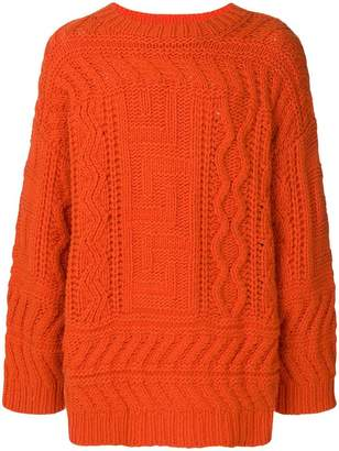 594e25115b Mens Chunky Ribbed Sweater - ShopStyle