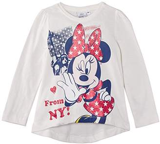 Disney Girls' Minnie Mouse Long Sleeve T-Shirt