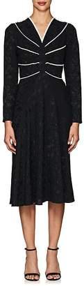 Mayle Maison Women's Clarisse Floral Silk Jacquard Dress