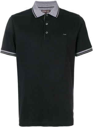 MICHAEL Michael Kors stripe-trimmed polo shirt