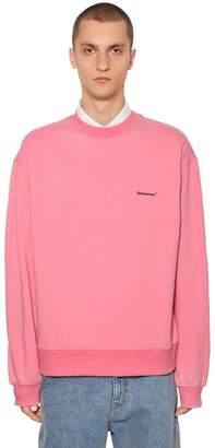 Logo Detail Cotton Jersey Sweatshirt