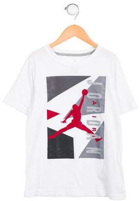 Nike Jordan Boys' Short Sleeve Graphic Shirt