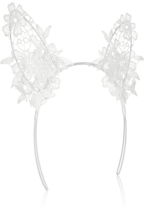 Mimi Holliday Coquette lace cat ear headband
