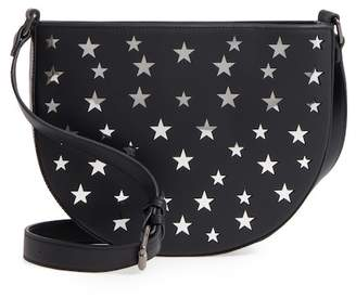 Street Level Half Moon Faux Leather Crossbody Bag