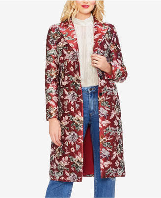 Vince Camuto Floral Tapestry Topper Jacket