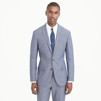 Ludlow suit jacket in Italian wool-linen $298 thestylecure.com