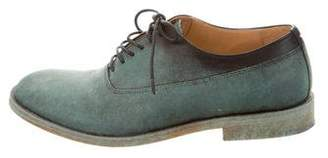 Maison Margiela Leather Lace-Up Oxfords