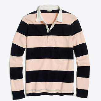 J.Crew Factory Long-sleeve rugby stripe polo