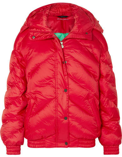 Perfect Moment - Oversized Quilted Jacket - Red