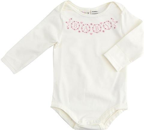 Cynthia Rowley Girls Oh, Baby Lap Shoulder Bodysuit - Cream (0-3 Months)