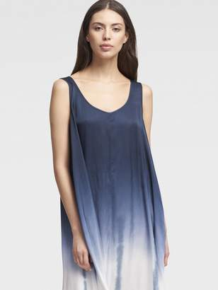 DKNY Sleeveless Ombre Maxi Dress