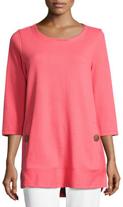 Neon Buddha Newport Lightweight Ribbed Top $95 thestylecure.com