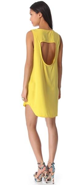BB Dakota Wilk Hi-Low Dress