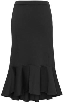 Banana Republic Knit High-Low Hem Trumpet Skirt
