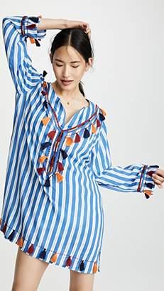 Bindya Striped Tunic With Tassels