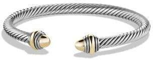 David Yurman Cable Classic® Bracelet With Amethyst And 14K Gold