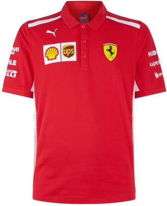 Puma Ferrari Team Polo Shirt